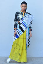Load image into Gallery viewer, Urban Drape Checkmate Racer Saree