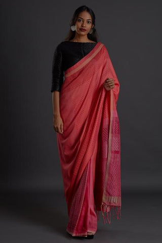 Urban Drape Rose Wing Saree