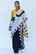Load image into Gallery viewer, Urban Drape Track Star Saree