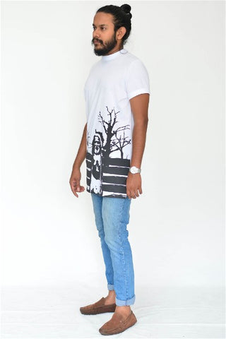 Vedda High Neck Tee