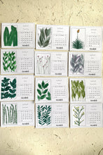 Load image into Gallery viewer, Hand Painted Greenery Calendar 2020