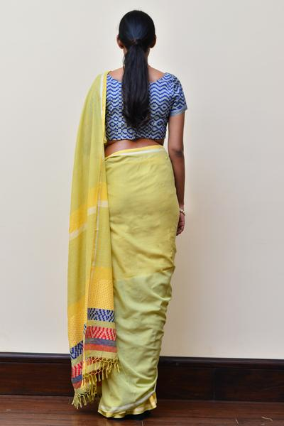 Urban Drape Young Spring Saree