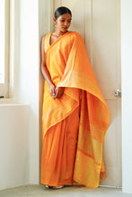 Load image into Gallery viewer, Urban Drape Desert Sun Saree