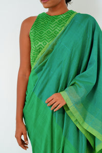Urban Drape Emerald Moments Saree