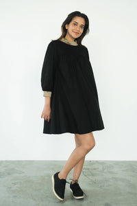 MENDES CEYLON - Jasmin Mini Dress Black