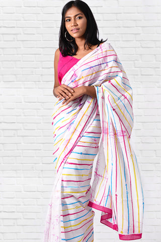 Urban Drape Neon Light Saree