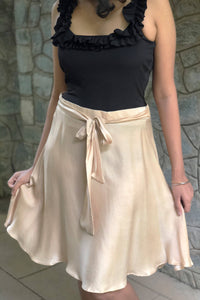 Natural Dye Middie Skirt