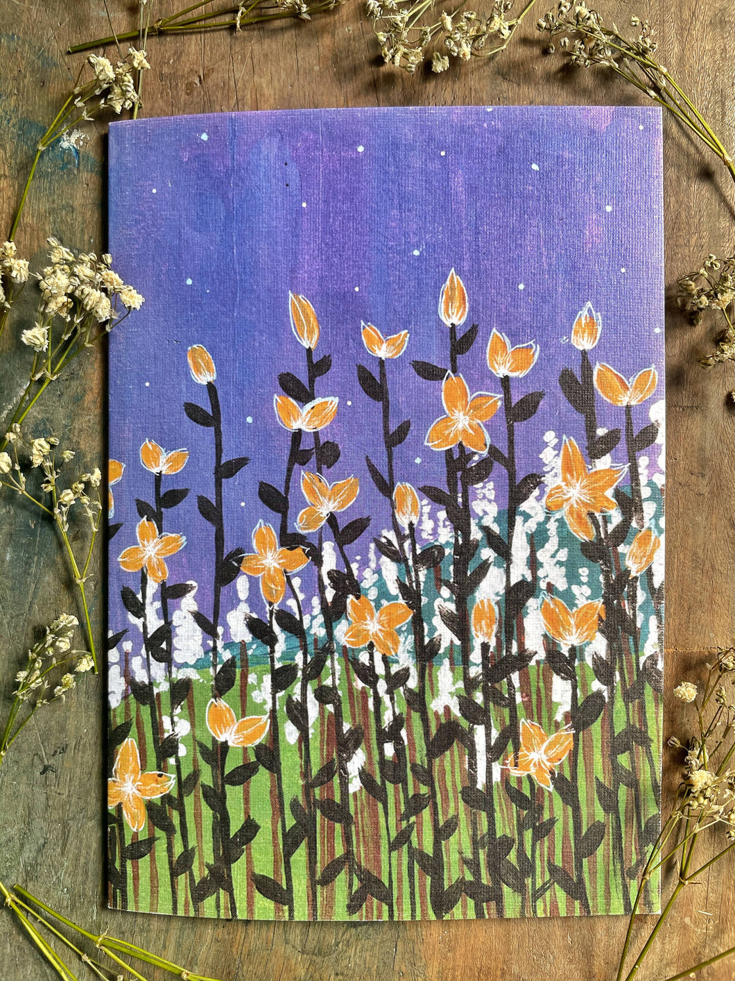 Night Spring - Printed Card