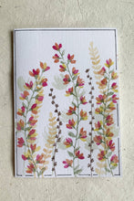 Load image into Gallery viewer, Hand Painted Garden Bloom Card