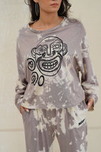 Load image into Gallery viewer, MACHAN TIE DYE LONG SLEEVE OVERSIZED T-SHIRT