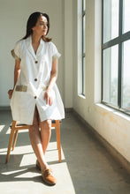 Load image into Gallery viewer, MENDES CEYLON - Blazer Mini Dress White