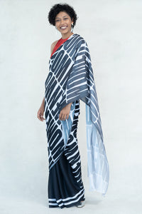 "Urban Drape ""Heroine"" Statement Printed Saree"