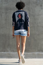 Load image into Gallery viewer, Girl Gang Open Bomber Jacket