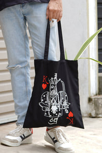 King of Taprobana Tote Bag
