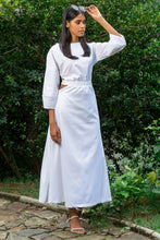 Load image into Gallery viewer, Elate White Midi Dress