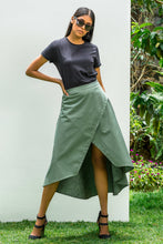 Load image into Gallery viewer, Khaki Chipper Skirt
