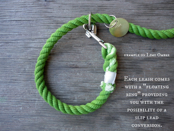 Plum Ombre Rope Leash