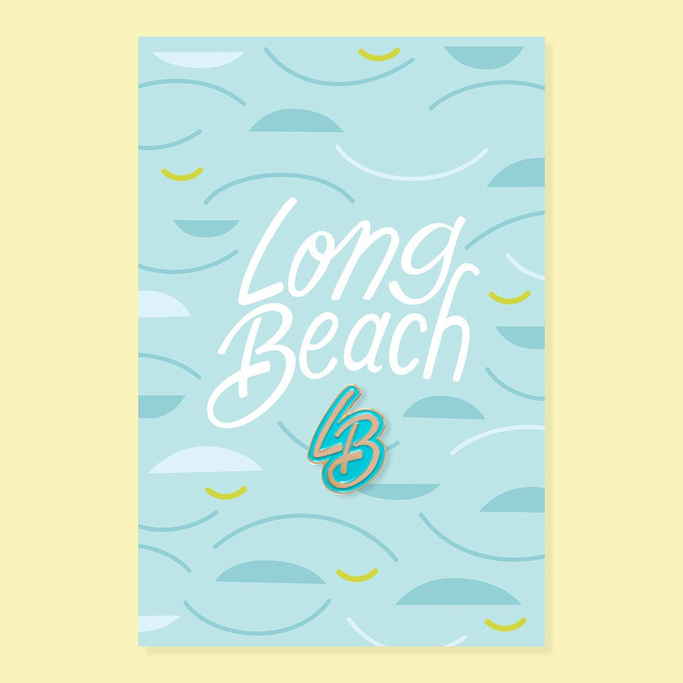 Lapel Pin Long Beach