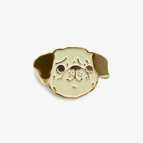 Lapel Pin Puggy Pin