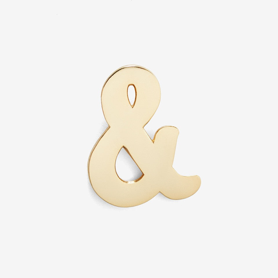 Lapel Pin Ampersand Pin