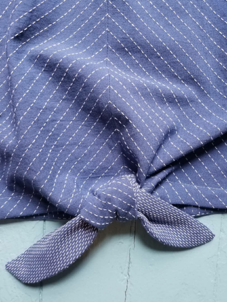 End of BOlt: 7/8th yard of Stitched Lake Chambray Woven