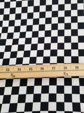 End of BOlt: 5 yards of Double Brushed SKA Checkered Knit