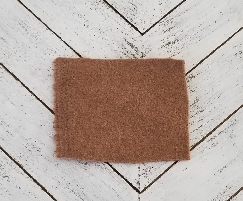 End of BOlt: 3 yards of Famous Maker Premium Carolina Tan Wool Blend Coating Woven
