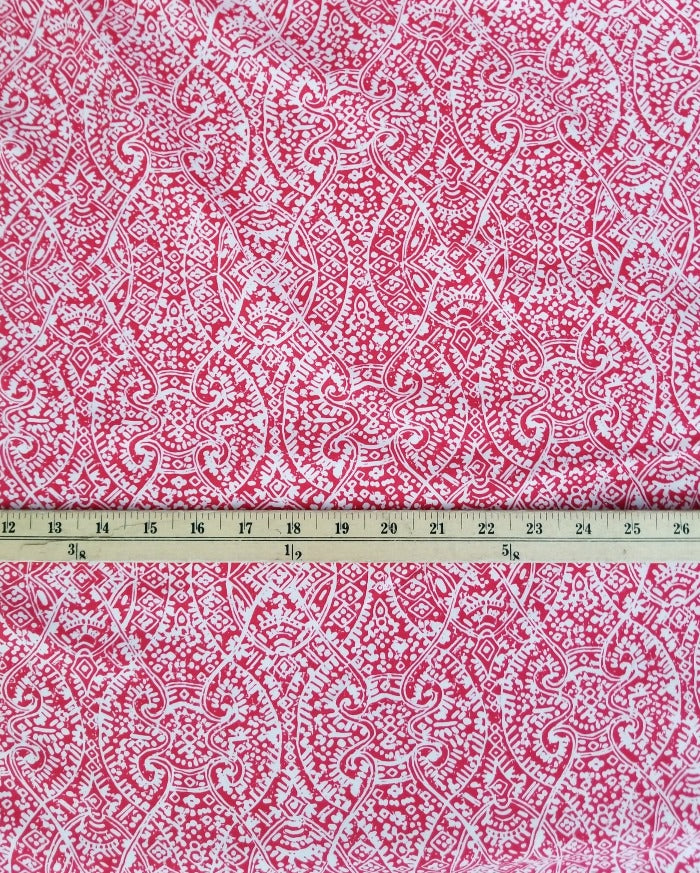 Famous Maker Boho Abstract Rayon Challis- Medium Weight