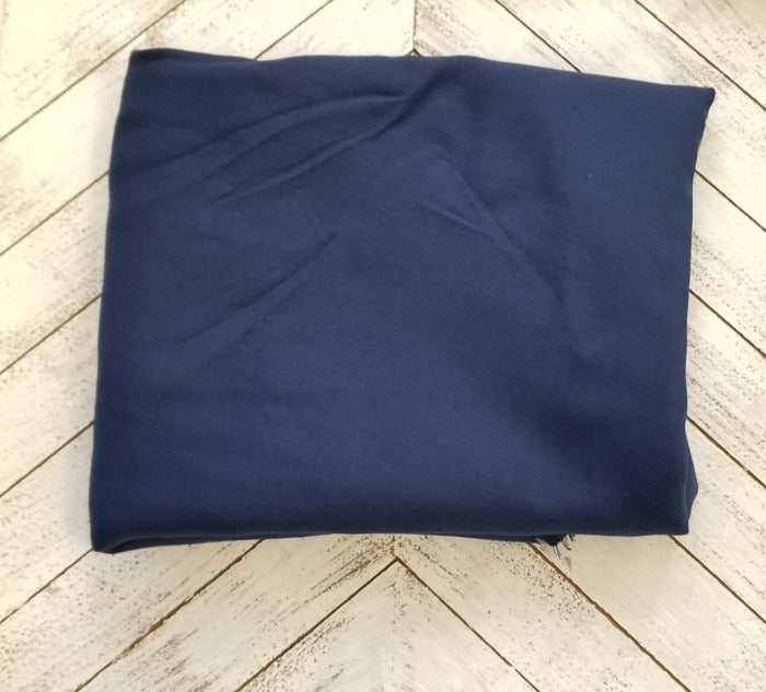 Famous Maker Rayon Twill Indigo Blue Woven-By The Yard