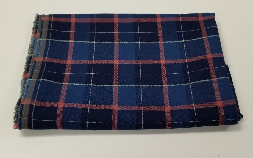Famous Maker Cotton Plaid Twill Weave Woven-By the yard