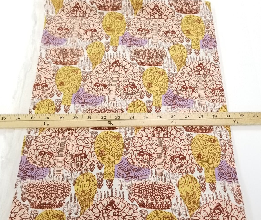 Lisabetta Hidden Stories Rayon Woven- Sold by the yard