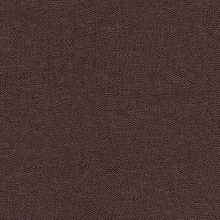Brussels Washer Rayon Linen Mist Espresso 6 oz-Sold by the yard