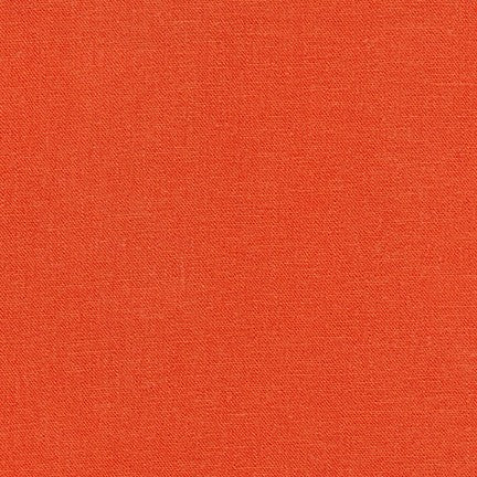 Brussels Washer Rayon Linen Poppy Hue 6 oz-By the Yard