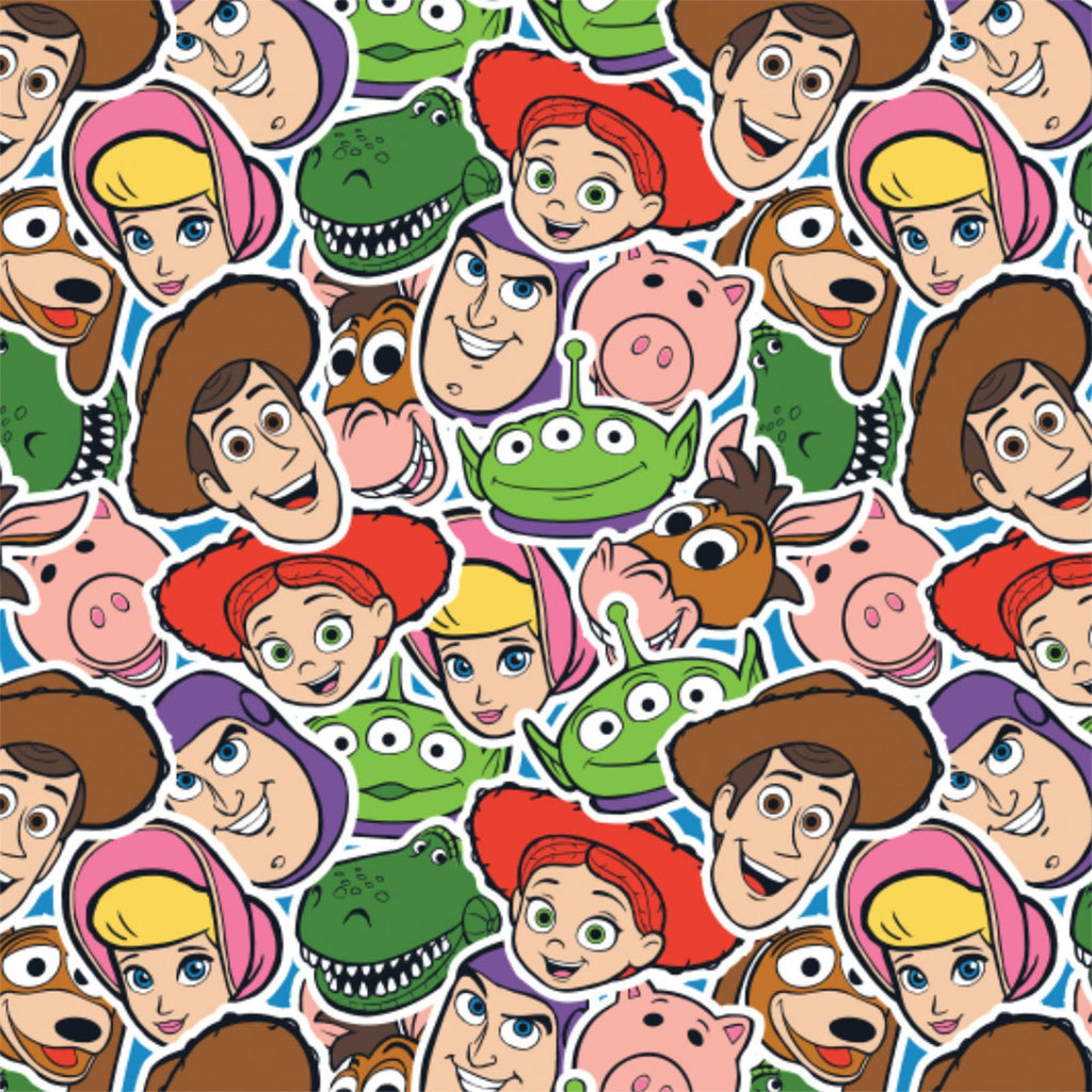 Licensed Disney Pixar Toy Story 100% Cotton Woven- Sold by the yard