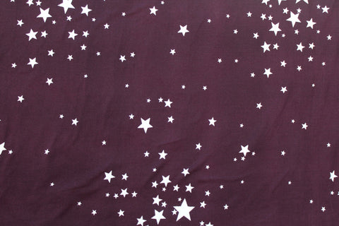 Double Brushed Wish Upon A Star Knit Eggplant