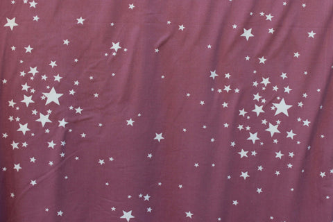 Double Brushed Wish Upon A Star Knit Mauve