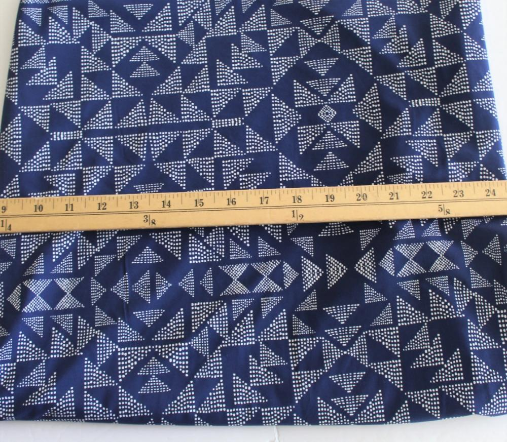 Famous Maker Geometric Navy Performance & Swim Knit