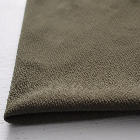 Olive Liverpool Solid Knit