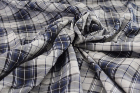 Fashion Plaid Cotton Shirting Woven