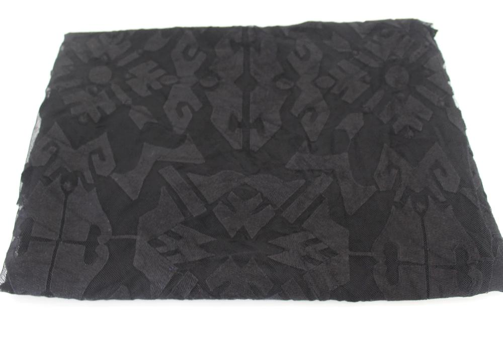 Famous Maker Heartland Fable Textured Stretch Black Lace