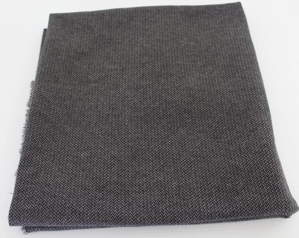 End of BOlt: 5-1/8th yards of Famous Maker Premium Herringbone Jacquard Knit