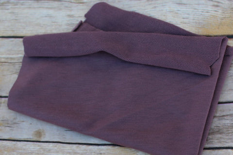 Amethyst Mauve French Terry Knit