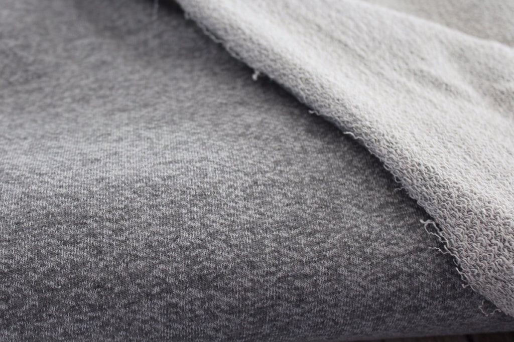 French Terry City Loft Grey Knit