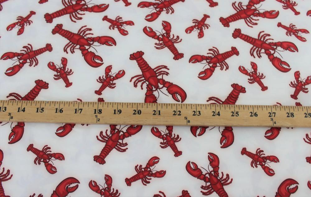 Famous Maker Rock Lobster Nylon Spandex Performance Knit
