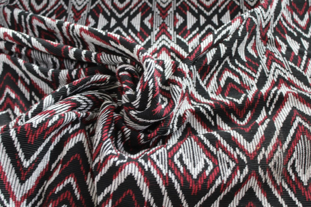 End of Bolt: 3 yards of Famous Maker Ethnic Sweater Knit