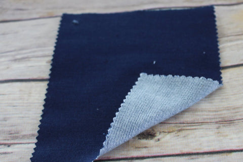 End of Bolt: 4 yards of USA Denim Blue