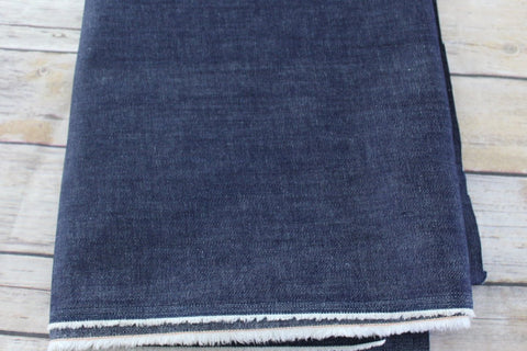 End of Bolt: 2.5 yards of Fashion Stretch Denim Cone Mills S-Gene 9.5 oz