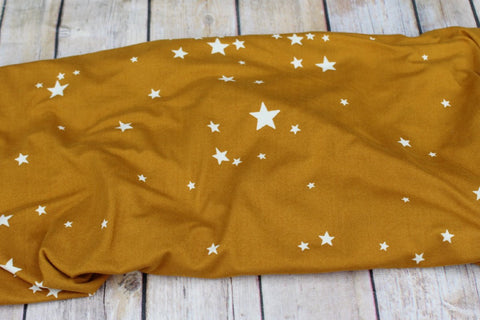 Double Brushed Wish Upon A Star Knit Mustard