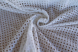 Cotton Eyelet Fabric by the Yard. LA Finch Fabrics. 100% Cotton. Fashion Fabrics.