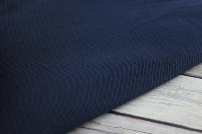 End of Bolt: 2.5 yards of Famous Maker Brushed Flannel Chambray Shirting Woven
